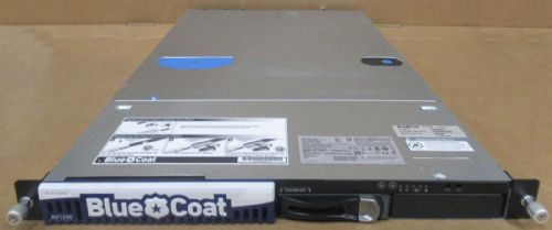 BlueCoat Proxy AV1200-A 1x Xeon E5504 500GB Network Security Appliance 090-02910